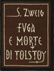 Cover of Fuga e morte di Tolstoj