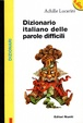 Cover of Dizionario italiano delle parole difficili