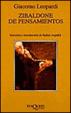 Cover of Zibaldone de pensamientos