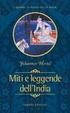 Cover of Miti, fiabe e leggende dell'India