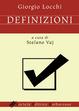 Cover of Definizioni