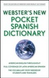 Cover of Webster's New Pocket Spanish Dictionary