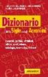 Cover of Dizionario delle sigle e degli acronimi
