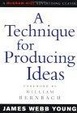 Cover of A Technique for Producing Ideas