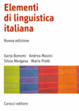 Cover of Elementi di linguistica italiana