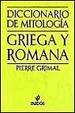 Cover of Diccionario de mitología griega y romana