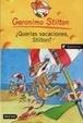 Cover of Querías vacaciones, Stilton?