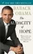 Cover of The Audacity of Hope