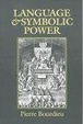 Cover of Language and Symbolic Power