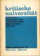 Cover of Kritische Universität