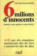 Cover of 6 milions d'innocents
