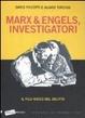 Cover of Marx ed Engels, Investigatori. Il filo rosso del delitto