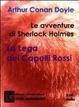 Cover of Le avventure di Sherlock Holmes. La lega dei capelli rossi. Audiolibro