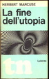 Cover of La fine dell'utopia