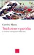 Cover of Traduzione e parodia