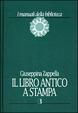 Cover of Il libro antico a stampa