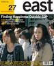 Cover of East. Ediz. inglese. Vol. 27: Finding happiness outside GDP.