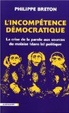 Cover of L'incompétence démocratique