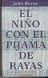 Cover of El niño con el pijama de rayas
