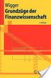 Cover of Grundzüge der Finanzwissenschaft
