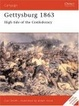 Cover of Gettysburg 1863