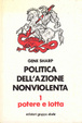 Cover of Politica dell'azione nonviolenta