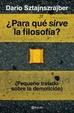 Cover of ¿Para qué sirve la filosofía?
