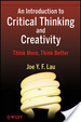 Cover of An Introduction to Critical Thinking and Creativity