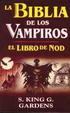 Cover of La Biblia de los vampiros