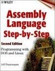 Cover of Assembly Language Step-by-step