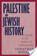 Cover of Palestine and Jewish History