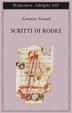 Cover of Scritti di Rodez