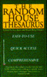 Cover of Random House Thesaurus