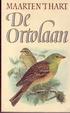 Cover of De ortolaan