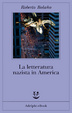 Cover of La letteratura nazista in America