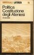 Cover of Politica costituzione degli ateniesi