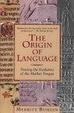 Cover of The Origin of Language