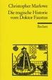 Cover of Die tragische Historie vom Doktor Faustus.