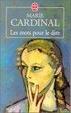Cover of Les mots pour le dire