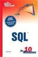 Cover of Sams Teach Yourself SQL in 10 Minutes, Third Edition