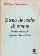 Cover of Sueño de noche de verano