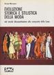 Cover of Evoluzione storica e stilistica della moda vol. 2