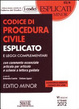 Cover of Codice di procedura civile esplicato