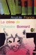 Cover of Le crime de Sylvestre Bonnard