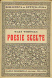 Cover of Poesie scelte