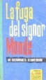 Cover of La fuga del signor Monde