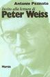 Cover of Invito alla lettura di Peter Weiss