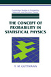 Cover of The Concept of Probability in Statistical Physics