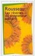 Cover of Les Reveries Du Promeneur Solitaire
