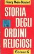 Cover of Storia degli ordini religiosi